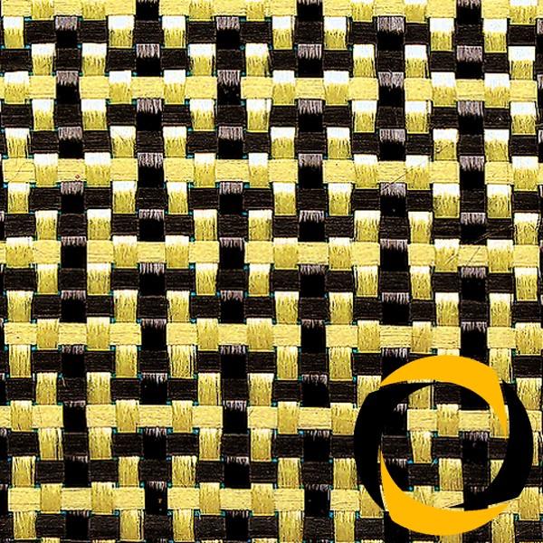 Kohle-/Aramidgewebe 188 g/m² (LW) 100 cm